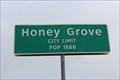 Image for Honey Grove, TX - Population 1668