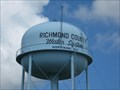 Image for Richmond County Water System Water Tower, Hoffman, NC