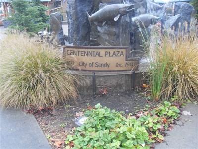 ...the commemorative plaque.