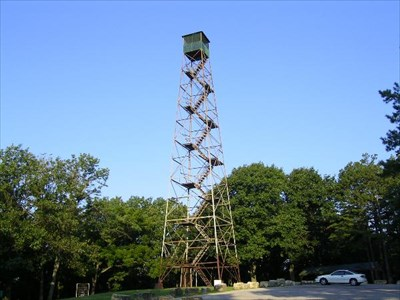 This is a great shot of the Sunridge Tower.