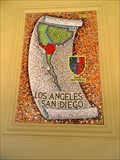 Image for Los Angeles-San Diego 1922-1936 Mural - Mission Hills, CA