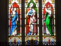 Image for Holy Trinity Church - Stained Glass - Felinfoel, Llanelli, Wales, Great Britain.[