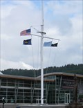 Image for Columbia River Maritime Museum Flags - Astoria, Oregon