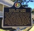 Image for Hank Williams' Boyhood Home - Georgiana, AL