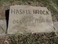 Image for Haskel Brock - Gordonville Cemetery - Gordonville, TX