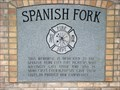 Image for Spanish Fork Firefighter Memorial - Spanish Fork, Utah USA