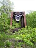 Image for Abandoned Truss Bridge, Jamestown & Franklin RR