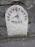 Image for Milestone, A487, Bow Street, Ceredigion, Wales, UK
