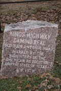 Image for El Camino Real -- DAR Marker No. 29, SH 21 at Houston CR 3105, Houston Co. TX