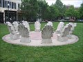 Image for A Circle of Acanthus Leaf Chairs - Gaithersburg MD