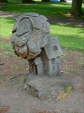 Image for Owl and Cottage Carvings - Abington Park, Northampton, UK