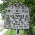 Image for First Post Road, Marker A-25