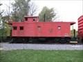 Image for EJ&E 514 caboose - Plainfield, iL