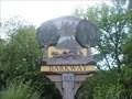 Image for Village Sign - #96 High Street, Barkway, Herts, UK