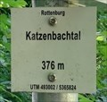 Image for 376m  - Katzenbachtal - Bad Niedernau, Germany, BW