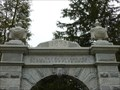 Image for Bible: Song of Solomon 2:17 - Brookfield Cemetery Gateway Arch - West Brookfield, MA