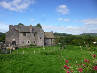 Lord Abercrombie visited Penhow Castle - Paranormal - Wales. Great Britain.