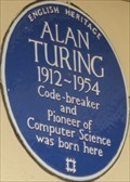 Image for Alan Turing - Warrington Crescent, London, UK