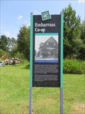 Image for Coop Store Historical Sign – Embarrass, MN