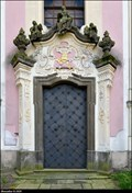 Image for Portal of the Church of Virgin Mary the Protector / Portál kostela Panny Marie Ochranitelky - Klášterec nad Ohrí (North-West Bohemia)