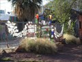 Image for Bottle Decorated Fence - Truth or Consequences, NM