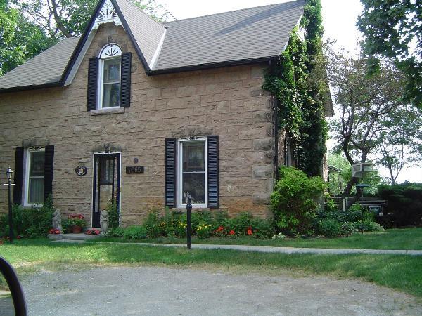 Carpenter gothic revival house house crazy for Gothic revival farmhouse
