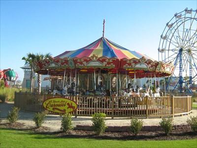carousel at miracle strip in pier park panama city beach fl rh waymarking com