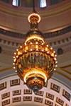 Located in the rotunda.