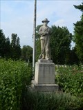 Image for Civil War Soldier Statue - Wyuka Cemetery - Lincoln, Ne.