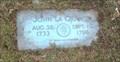 Image for John La Grange - Riverside Cemetery - Endicott, NY