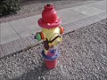 Image for Rainbow-Colored Hydrant - Glendale AZ