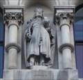 Image for Monarchs - King George II On City Hall - Bradford, UK
