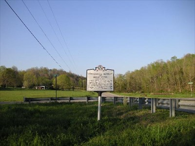 Battle Of Sugar Creek Minor Hill Tn Battlefields On
