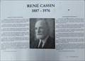 Image for PEACE: René Cassin 1968 - Côte St-Luc, QC, Canada