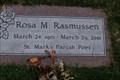 Image for 100 - Rosa M Rasmussen - Los Olivos California