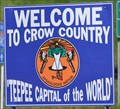 Image for Welcome to Crow Country ~ TeePee Capital of the World