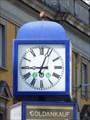 Image for Town Clock Bischofsplatz - Bonn, NRW, Germany