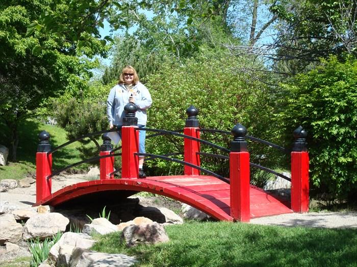Japanese Garden Bridge, International Peace Gardens - Salt Lake City ...