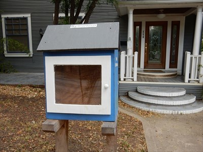Queens Crescent Street Little Free Library - San Antonio, TX