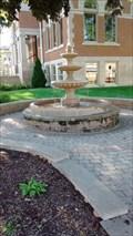 Image for Sparta Free Library Public Fountain - Sparta, WI, USA