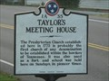 Image for Taylor's Meeting House - 1A 35 - Blountville, TN