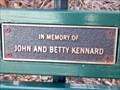 Image for John & Betty Kennard, bench - Rocky Point Island NSW, Australia