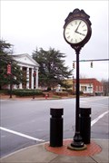 Image for Town Clock - Louisburg, NC