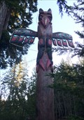 Image for Idlemore Road Totem Pole - Sooke, British Columbia, Canada