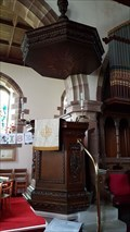 Image for Pulpit - St Andrew - Weston-under-Lizard, Staffordshire