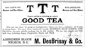 Image for M. Des Brisay and Co. - Nelson, BC - 1899