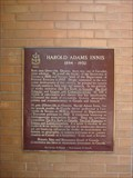 Image for CNHS - Harold Adams Innis 1894 - 1952 ~ Toronto