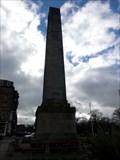 Image for Cenotaph Obelisk - Satellite Oddity - Harrogate, North Yorkshire, Great Britain.