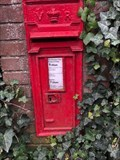 Image for Victorian Wall Post Box - Station Road - Chinnor - Oxfordshire - UK