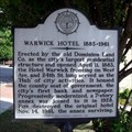 Image for Warwick Hotel 1883-1961